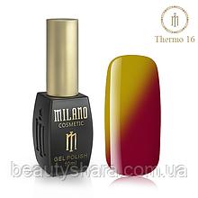 Термо Гель-лак Milano 10 мл №16