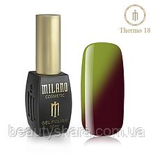 Термо Гель-лак Milano 10 мл №18