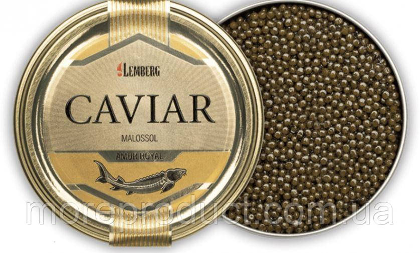 Ікра чорна амурського осетра, Lemberg, 50 грам