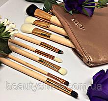 Набір кистей для макіяжу Zoeva 8шт (Golden Rose)