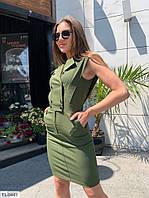 Стильне плаття жіноче короткий облягає по фігурі на літо тонкий джинс стрейч р-ри 42-48 арт. 9973