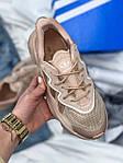 Женские кроссовки Adidas Ozweego (бежевые) AZ003 крутые молодежные кроссы, фото 3