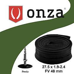 """Камера 27.5"""" х 1.90/2.40 (50/60-584) ONZA FV Presta 48 мм"""