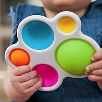 Сенсорна іграшка Simple Dimple поп іт антистрес сімпл дімпл pop it дитячий, фото 2