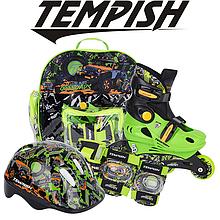 Детские раздвижные роликовые коньки Tempish Racer Baby skate (комплект)/30-33