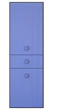 Пенал Аватар 2D1S навіс. венге м./синій (Гербор)