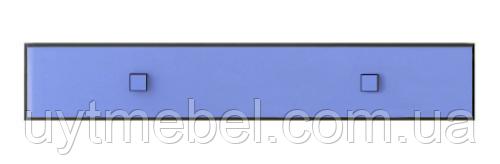 Полиця Аватар 1D венге м./синій (Гербор)