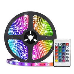 Cветодиодная лента с пультом LED RGB 5050, Bluetooth