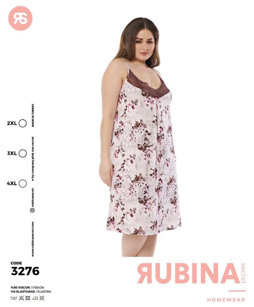 """Жіноча нічна сорочка""""RUBINA"""" Туреччина  Art-3276"""