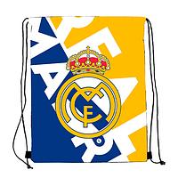 "Сумка для обуви с принтом""Реал Мадрид""30х40"