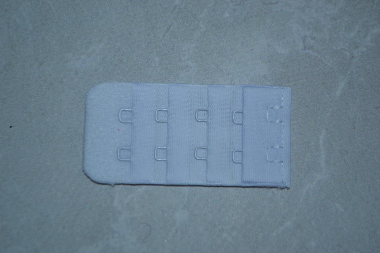 Удлинитель Lemila (подовжувач) для бюстгальтеров на 2 крючока Белый
