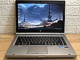 Ігровий Ноутбук HP 8470p Core I7+Radeon+ 8 RAM+500 HDD+Гарантія, фото 2