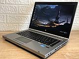 Ігровий Ноутбук HP 8470p Core I7+Radeon+ 8 RAM+500 HDD+Гарантія, фото 3