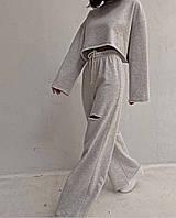 Женский прогулочный костюм с разрезами на штанах Норма, фото 1