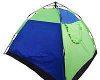 Палатка туристическая кемпинговая пятиместная Stenson R17768 2.5х2.5х1.7 м, фото 1
