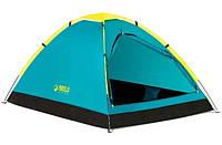 Палатка туристическая двухместная однослойная Bestway 68084 Cool Dome 2, фото 1