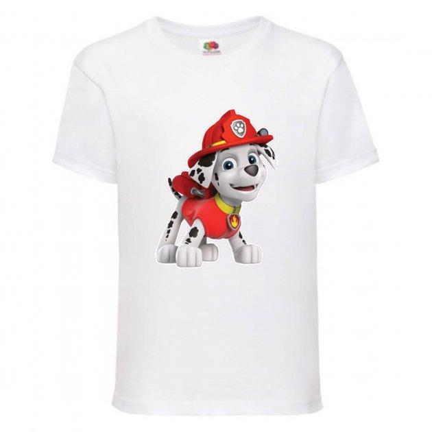 Детская футболка с принтом Маршал, Щенячий патруль Push IT