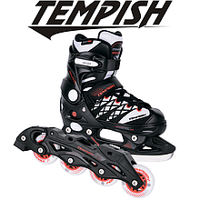 Детские раздвижные роликовые/ледовые коньки Tempish Clips Duo 2в1/33-36