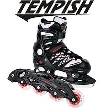 Детские раздвижные роликовые/ледовые коньки Tempish Clips Duo 2в1/29-32