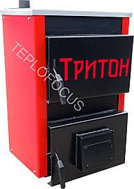 """Котел твердопаливний Тиврон """"Тритон"""" 14 кВт (сталь 4 мм) Безкоштовна доставка!"""
