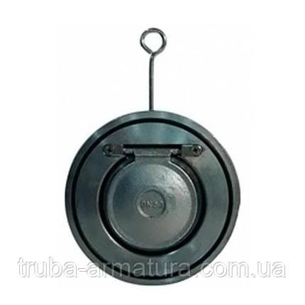 Клапан зворотний міжфланцевий (хлопушка) ДУ 200 TIS C080 | PN 16, фото 2