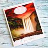 Зошит шкільний в клітинку 24 аркуша Лідер, водоспад, фото 3
