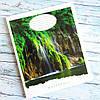 Зошит шкільний в клітинку 24 аркуша Лідер, водоспад, фото 4