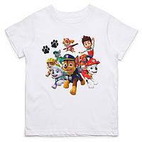 Детская футболка с принтом Щенячий патруль, персонажи Push IT
