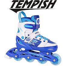 Детские раздвижные роликовые коньки Tempish Swist Flash/30-33, голубые