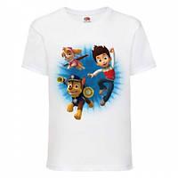 Детская футболка с принтом Щенячий патруль: Райдер, Гонщик, Скай Push IT