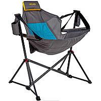 Кресло-качалка раскладное Uquip Rocky Blue/Grey (244027)
