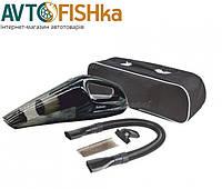 Автопилосос Cyclone Maxi 110W суха і волога чистка, 2 насадки, 2 фільтра HEPA, сумка