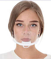 Маска прозора пластикова для обличчя