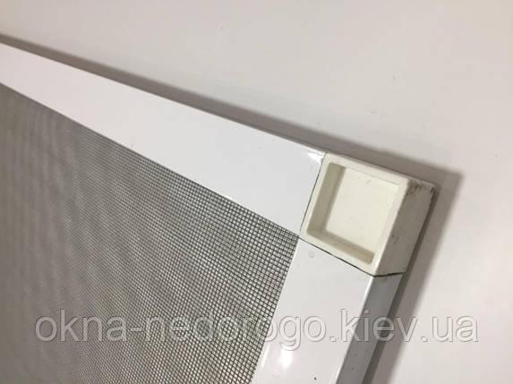 Москитная сетка на пластиковые двери, фото 2