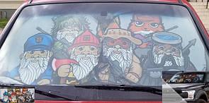 Оригинал Защита от солнца на лобовое окно авто 5.11 Car Shade Gnome