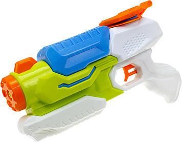 Пістолет водян.з насосом 30х18х6см,в кульку №705(60)(120) КІ