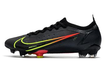 Бутсы Nike Mercurial Vapor 14 Elite FG black/red/lightgreen