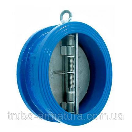Клапан зворотний двостулковий міжфланцьовий ДУ 350 TIS C084   PN 10/16, фото 2
