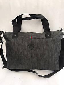 Женская тканевая сумка с ручками для фитнеса