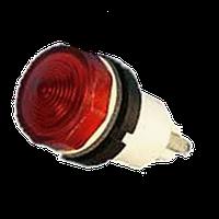 Арматура сигнальная АМЕ красная с лампой КМ-24