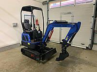 Мини экскаватор BUCKSON TX10 новый с полным оборудованием и лопатой