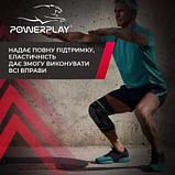 Наколінники спортивні PowerPlay 4099 Черні L-XL пара SKL24-277277, фото 4