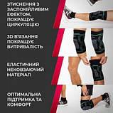 Наколінники спортивні PowerPlay 4099 Черні L-XL пара SKL24-277277, фото 5
