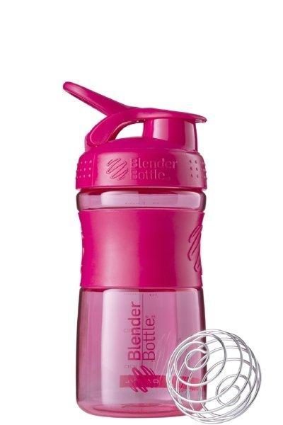 Спортивна пляшка-шейкер BlenderBottle SportMixer 20oz/590ml рожева FL Original SKL24-277387