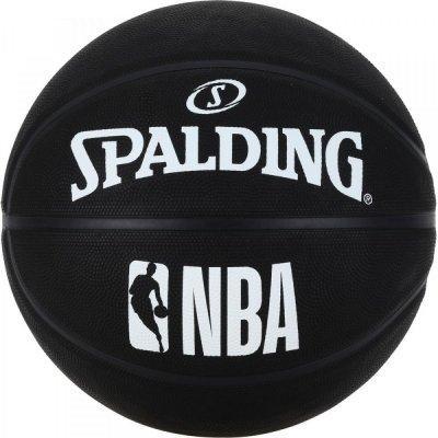 М'яч баскетбольний Spalding Nba Black Size 7 SKL41-277815