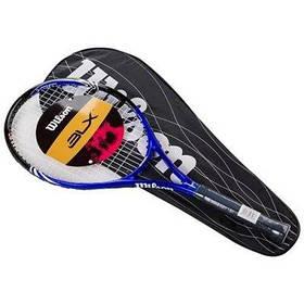 Ракетка для большого тенниса Wilson синяя, длина 27 дюймов SKL11-291785