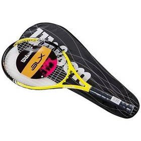 Ракетка для большого тенниса Wilson желтая, длина 27 дюймов SKL11-291786