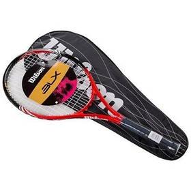 Ракетка для большого тенниса Wilson красная, длина 27 дюймов SKL11-291787