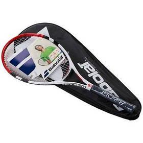 Ракетка для большого тенниса Babolat красная, длина 27 дюймов SKL11-291794