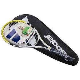Ракетка для большого тенниса Babolat желтая, длина 27 дюймов SKL11-291795